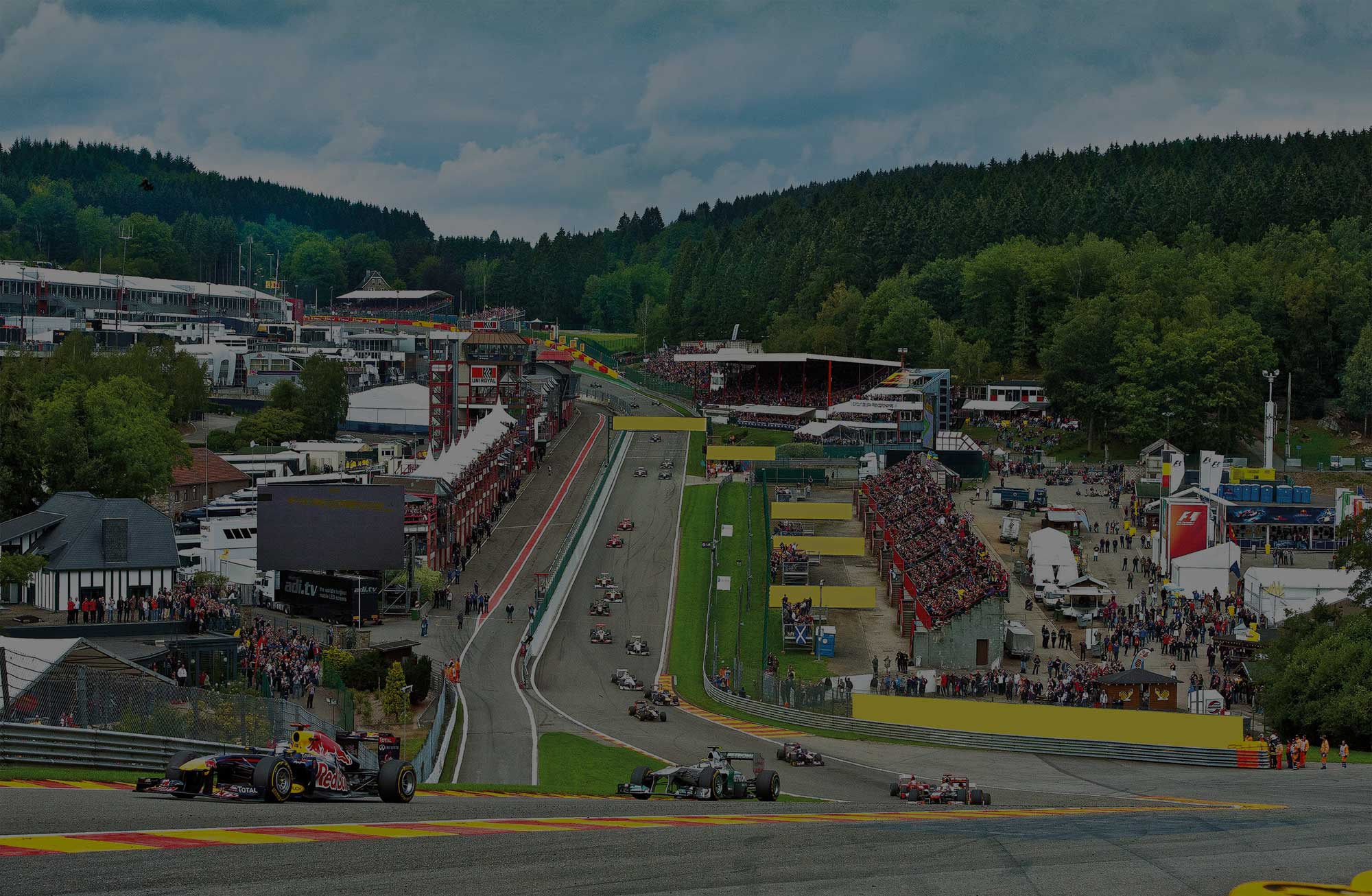 Formula 1 Belgium Grand Prix Packages