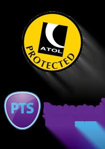 ATOL Protected and a PTS Member