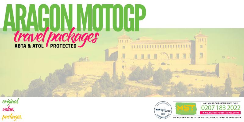 2019 Aragon MotoGP Travel Packages