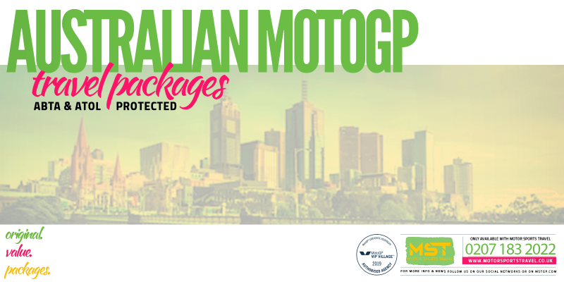 2019 Australian MotoGP Travel Packages