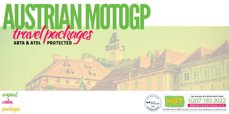 2019 Austrian MotoGP Travel Packages