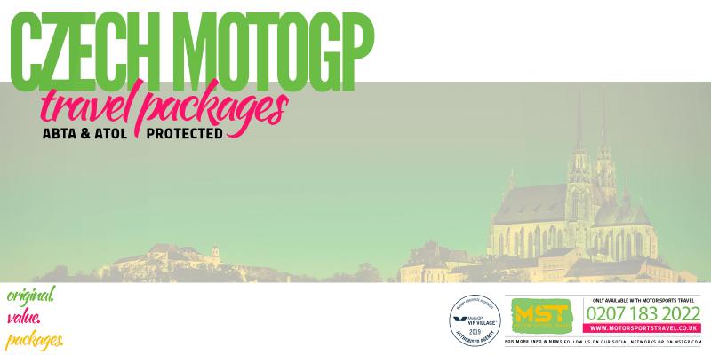 2019 Czech MotoGP Travel Packages