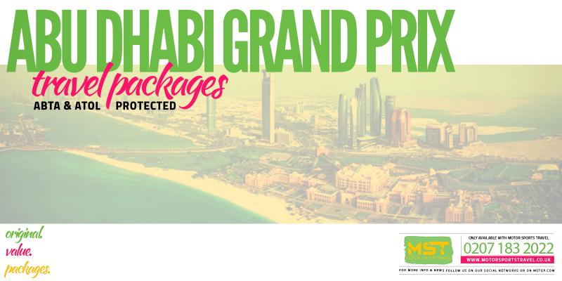 2019 Formula 1 Abu Dhabi Grand Prix Travel Packages