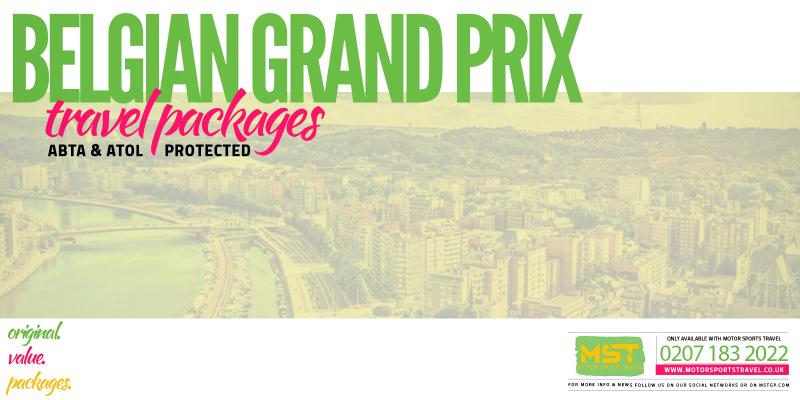 2019 Formula 1 Belgian Grand Prix Travel Packages