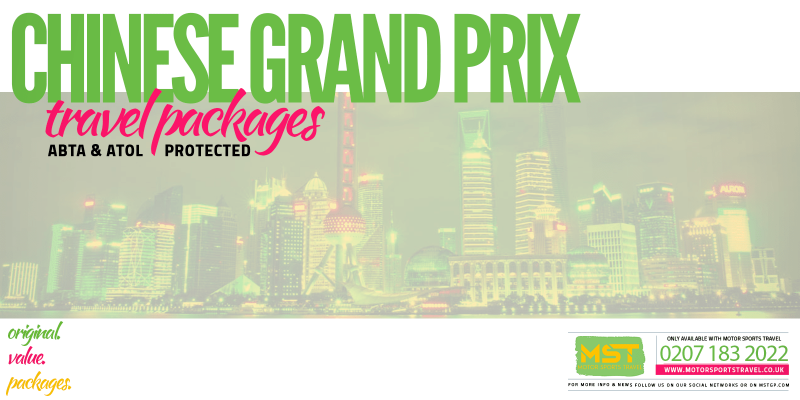 2019 Formula 1 Chinese Grand Prix Travel Packages