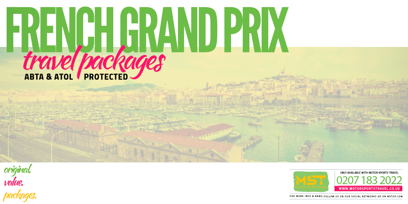 2019 Formula 1 French Grand Prix Travel Packages