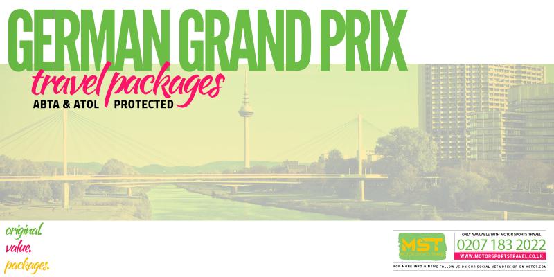 2019 Formula 1 German Grand Prix Travel Packages