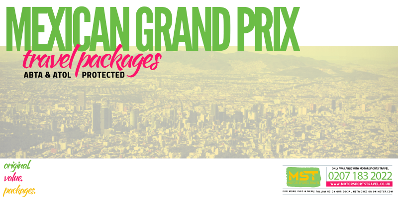 2019 Formula 1 Mexican Grand Prix Travel Packages