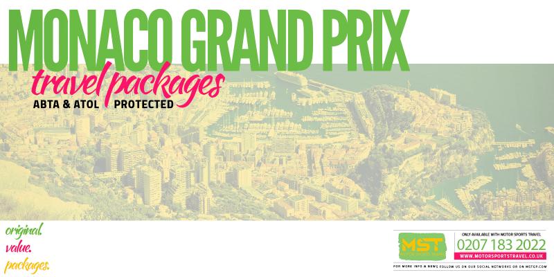 2019 Formula 1 Monaco Grand Prix Travel Packages