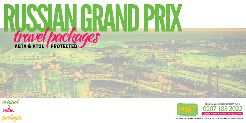 2019 Formula 1 Russian Grand Prix Travel Packages