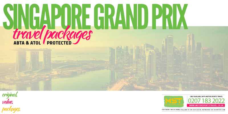 2019 Formula 1 Singapore Grand Prix Travel Packages