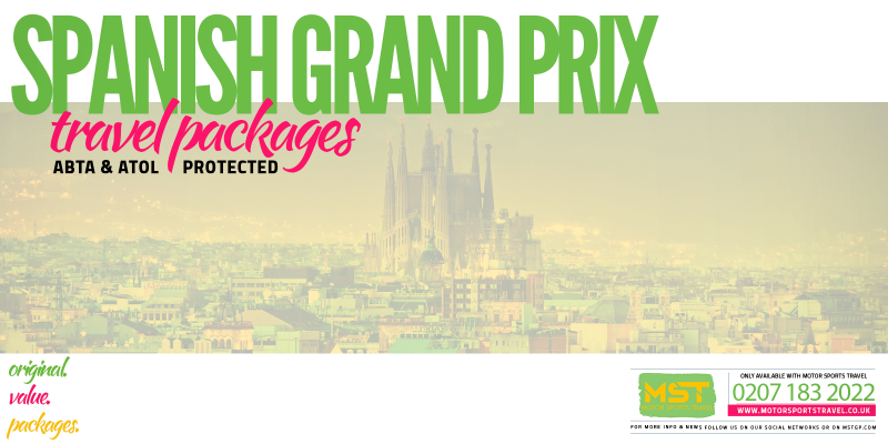 2019 Formula 1 Spanish Grand Prix Travel Packages