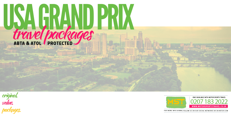 2019 Formula 1 USA Grand Prix Travel Packages