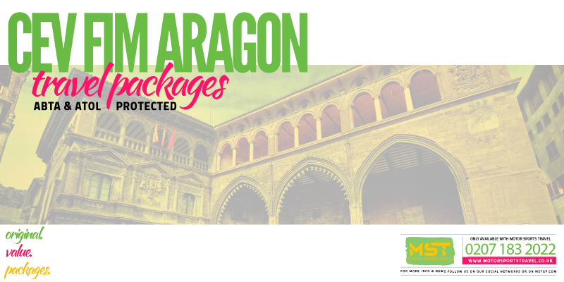 2019 CEV FIM Aragon Travel Packages