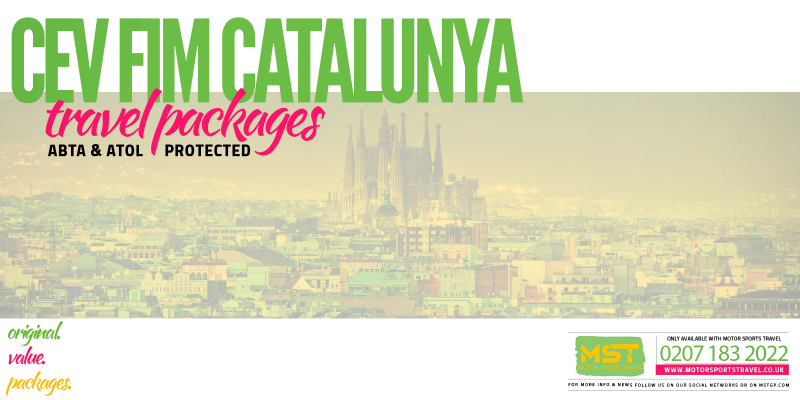 2019 CEV FIM Catalunya Travel Packages