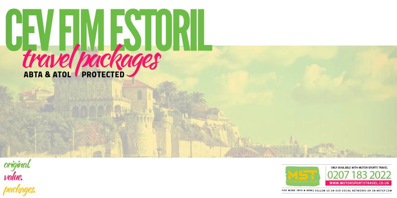 2019 CEV FIM Estoril Travel Packages