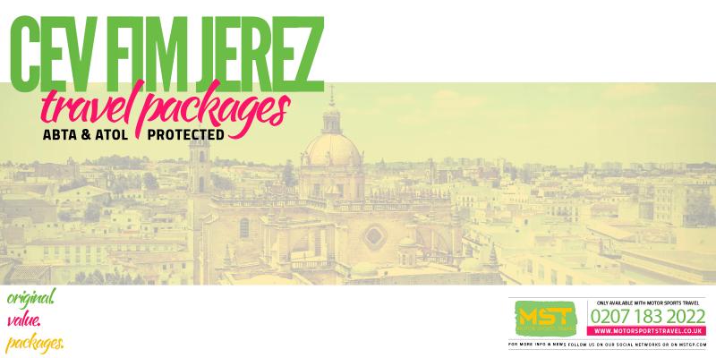 2019 CEV FIM Jerez Travel Packages