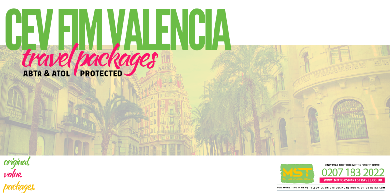 2019 CEV FIM Valencia Travel Packages