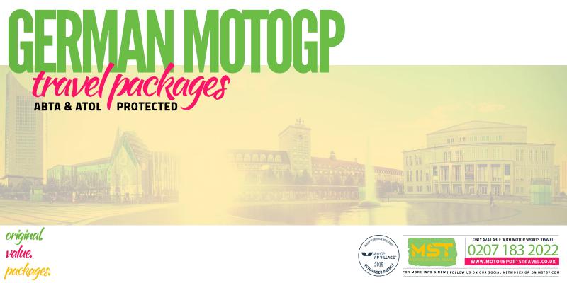 2019 German MotoGP Travel Packages