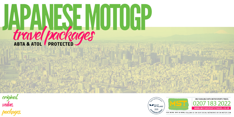 2019 Japanese MotoGP Travel Packages