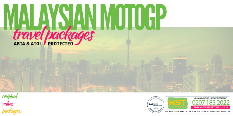 2019 Malaysian MotoGP Travel Packages