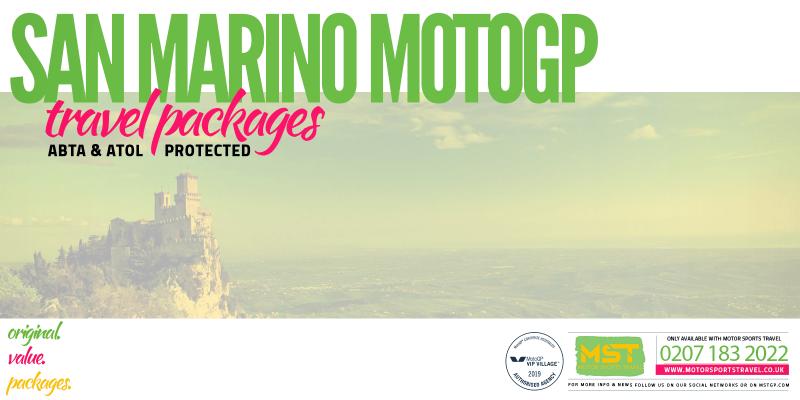 2019 San Marino MotoGP Travel Packages