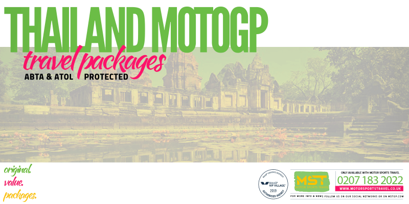 2019 Thailand MotoGP Travel Packages