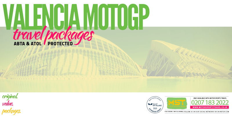 2019 Valencia MotoGP Travel Packages