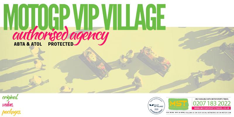 MotoGP VIP Village Authorised Agency 2019