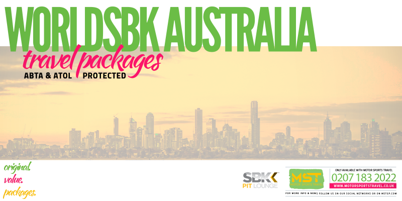 WorldSBK Australia Travel Packages