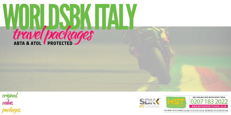 WorldSBK Italy Travel Packages