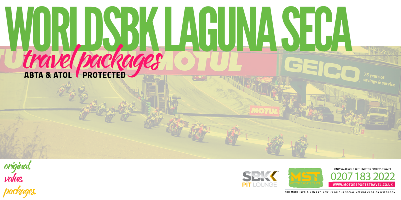 WorldSBK Laguna Seca Travel Packages