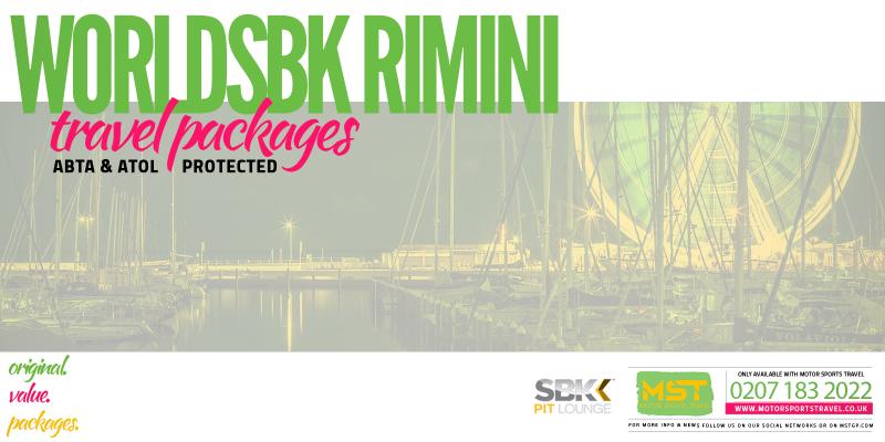 WorldSBK Rimini Travel Packages