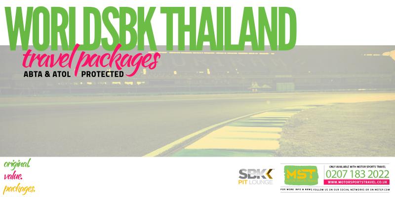 WorldSBK Thailand Travel Packages